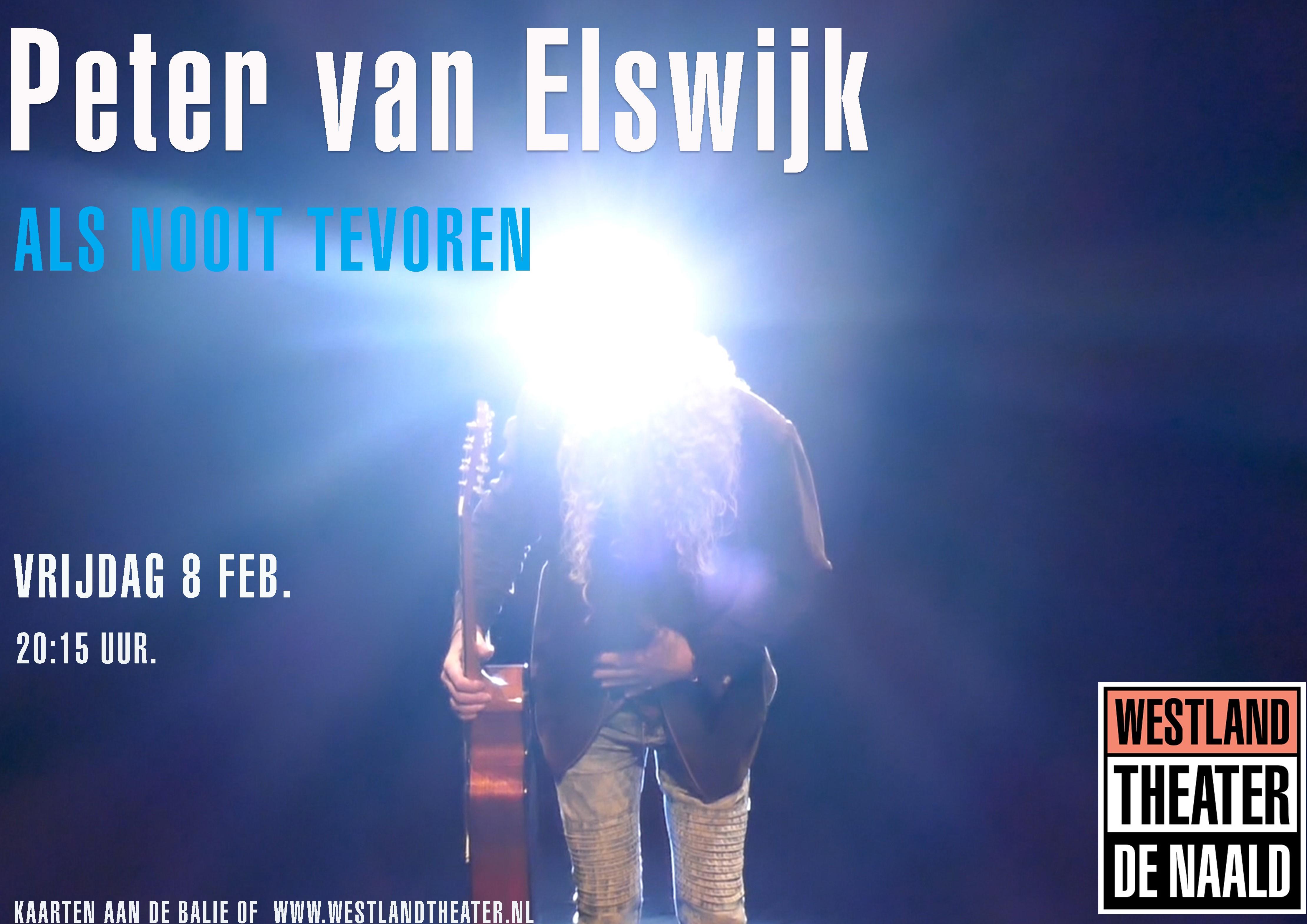 Als nooit tevoren Peter van Elswijk